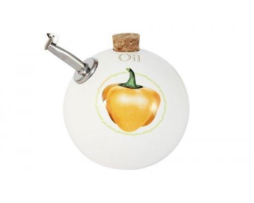 Бутылка для масла (круглая) Томаты и перцы Ceramiche Viva