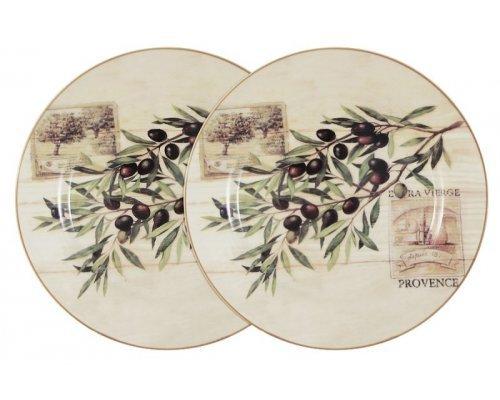 Набор из 2-х обеденных тарелок Оливки LF Ceramic