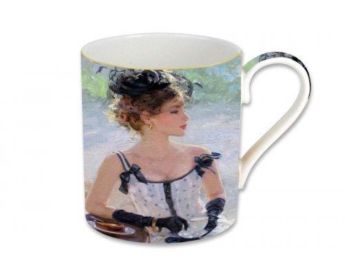 Кружка Carmani Утреннее чаепитие, в подарочной упаковке