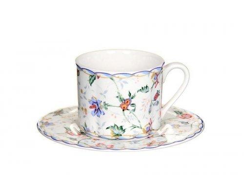 Чашка с блюдцем Букингем IMARI