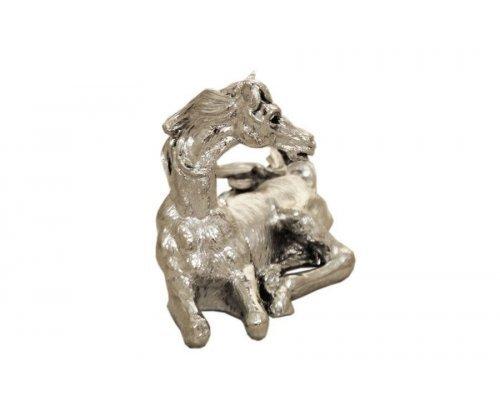 Статуэтка Gamma Лошадь (серебр)h 9см