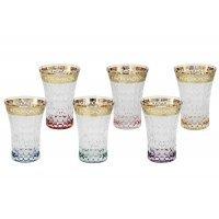 Набор: 6 стаканов для воды Same Цветная Флоренция