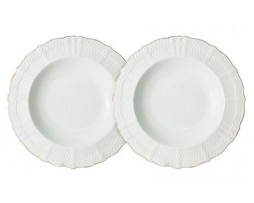 Набор из 2-х суповых тарелок Бьянка Colombo