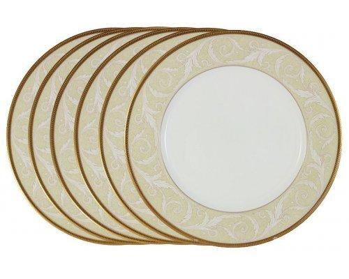 Набор из 6 обеденных тарелок Ноктюрн Narumi Голд