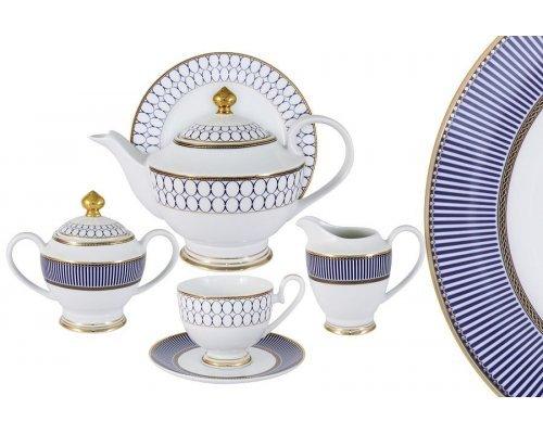 Чайный сервиз Адмиралтейский Midori 23 предмета на 6 персон