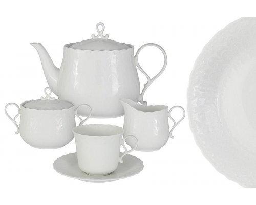 Чайный сервиз 17 предметов на 6 пресон Шелк Narumi