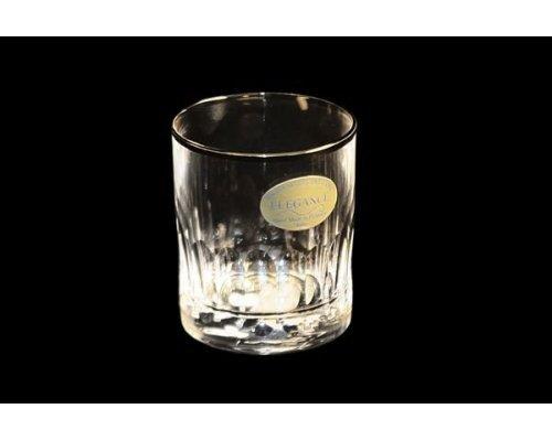 Набор Same: 6 хрустальных стопок для водки Палаццо платина