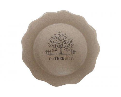 Круглое блюдо для выпечки Дерево жизни Terracotta