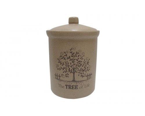 Банка для сыпучих продуктов большая Дерево жизни Terracotta