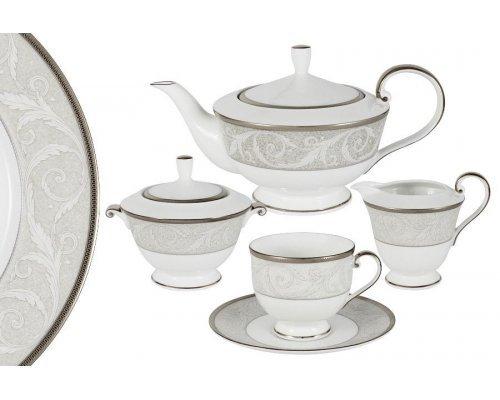 Чайный сервиз из 17 предметов на 6 персон Ноктюрн Narumi