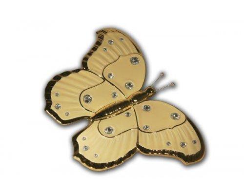 Декоративное изделие Bruno Costenaro Бабочка(кремовая)
