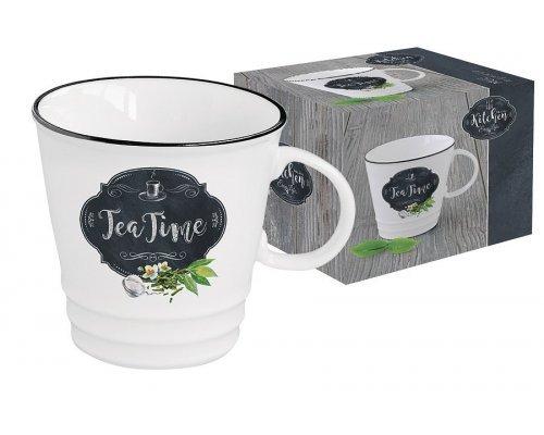 Кружка Кухня в стиле Ретро Easy Life (R2S) (чай) в подарочной упаковке