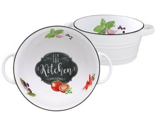 Салатник Кухня в стиле Ретро (малый) Easy Life (R2S) без индивидуальной упаковки