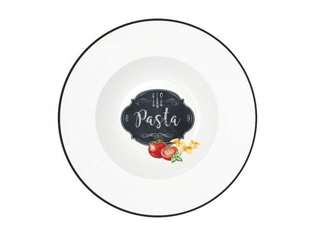Тарелка для пасты Кухня в стиле Ретро Easy Life (R2S) в подарочной упаковке