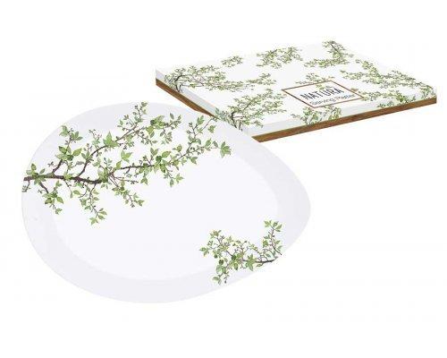 Тарелка овальная Натура Easy Life (R2S) в подарочной упаковке