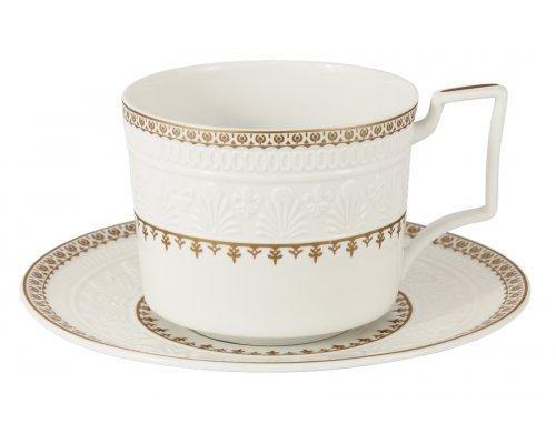 Чашка с блюдцем Золотой замок Colombo