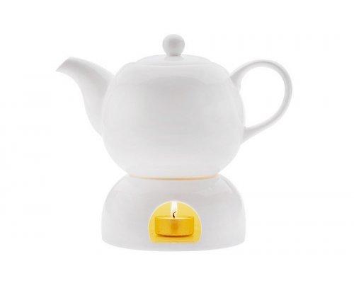Чайник на подставке Лилия Maxwell & Williams в подарочной упаковке