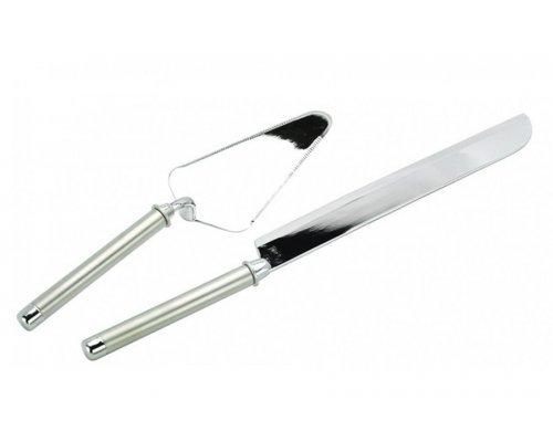 Набор сервировочный для торта Перле Regent: нож, лопатка