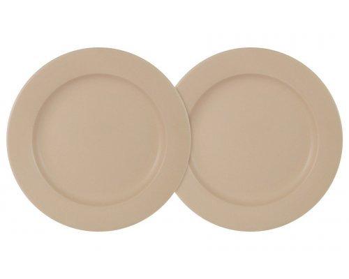 Набор из 2-х десерных тарелок Птичье молоко LF Ceramics