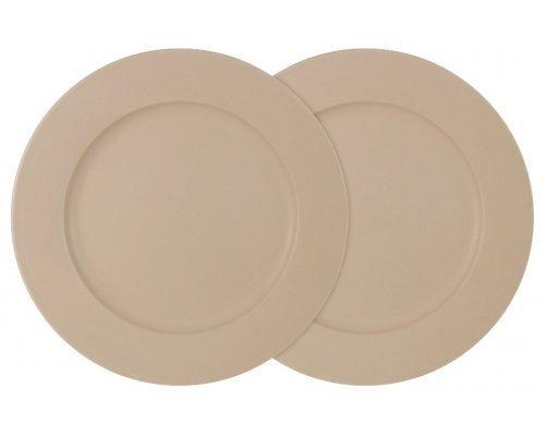 Набор из 2-х обеденных тарелок Птичье молоко LF Ceramics