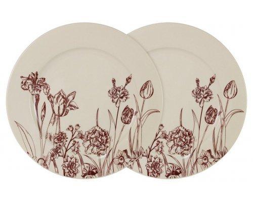 Набор из 2-х обеденных тарелок Эдем LF Ceramics