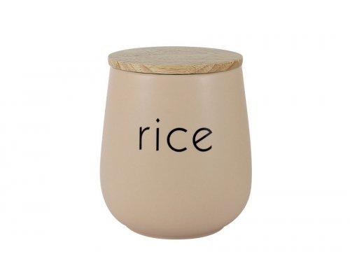 Банка для сыпучих продуктов (рис) Птичье молоко LF Ceramics