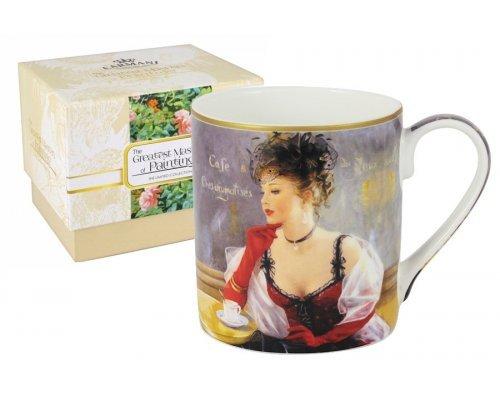 Кружка За чашкой кофе Carmani в подарочной упаковке