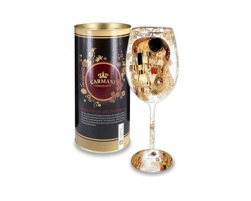 Бокал для вина Carmani Поцелуй (Г.Климт)