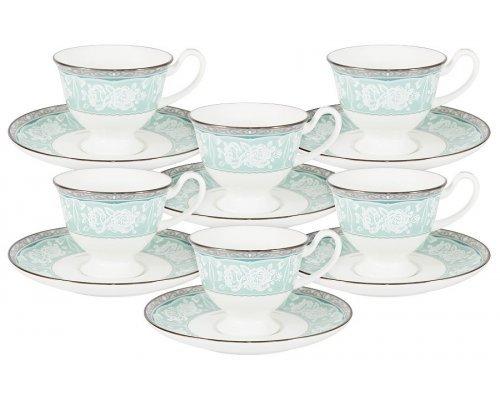 Кофейный набор Прикосновение Narumi: 6 чашек + 6 блюдец