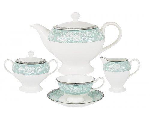 Чайный сервиз из 17 предметов на 6 персон Прикосновение Narumi