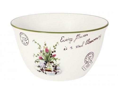 Салатник большой Букет LF Ceramic