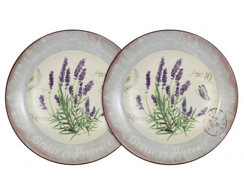 Набор из 2-х суповых тарелок Лаванда LF Ceramic