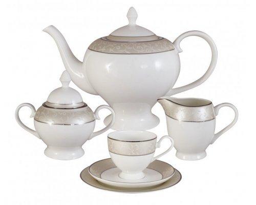Чайный сервиз Антуанетта Emily 21 предмет на 6 персон