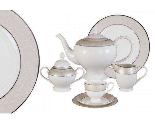 Чайный сервиз Антуанетта Emily 40 предметов на 12 персон