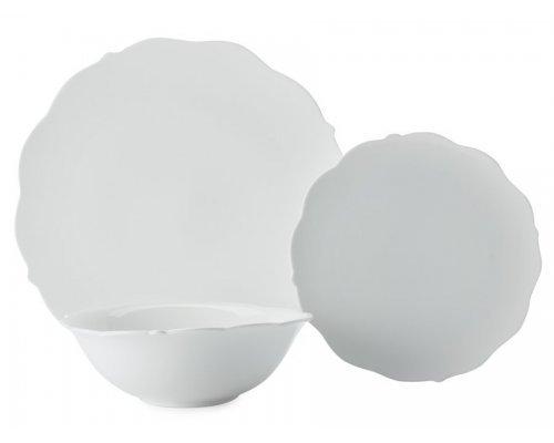 Обеденный набор на 4 персоны 12 предметов Белая роза Maxwell & Williams в подарочной упаковке