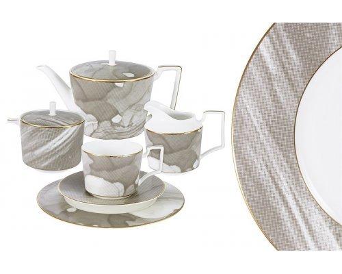 Чайный сервиз Naomi Лунная соната 21 предмет на 6 персон