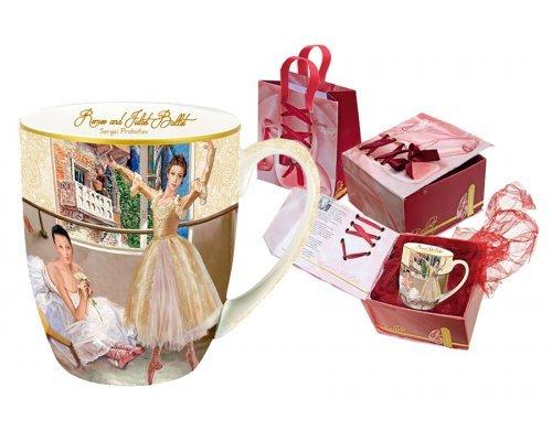 Кружка Carmani Ромео и Джульетта в подарочной упаковке