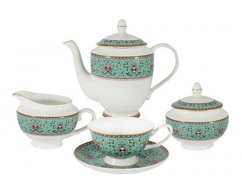 Чайный сервиз из 15 предметов на 6 персон Восточный дворец Stechcol