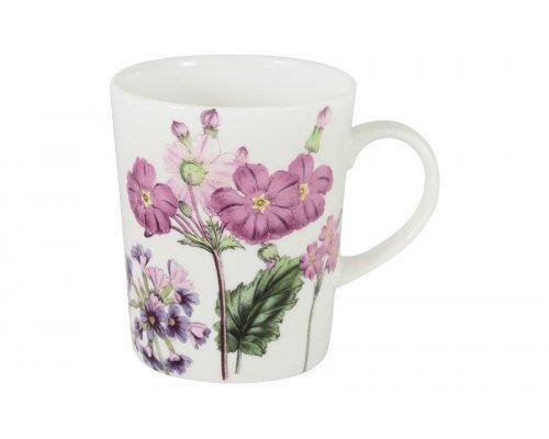 Кружка (розовые цветы) Лаура Stechcol в подарочной упаковке