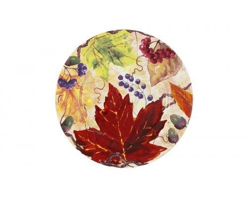 Тарелка Кленовый лист IMARI
