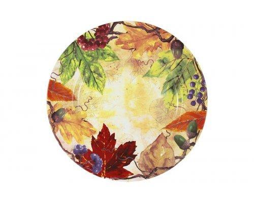 Тарелка обеденная Кленовый лист IMARI