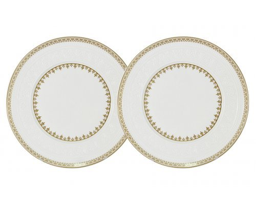 Набор из 2-х десертных тарелок Золотой замок Colombo