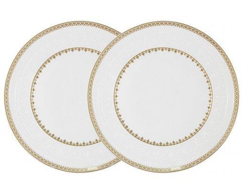 Набор из 2-х обеденных тарелок Золотой замок Colombo