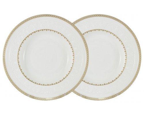 Набор из 2-х суповых тарелок Золотой замок Colombo