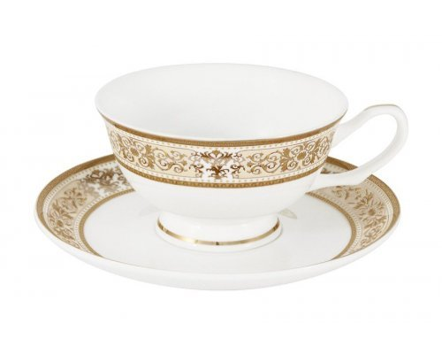 Набор для чая 12 предметов Шарлотта Anna Lafarg Emily: 6 чашек + 6 блюдец