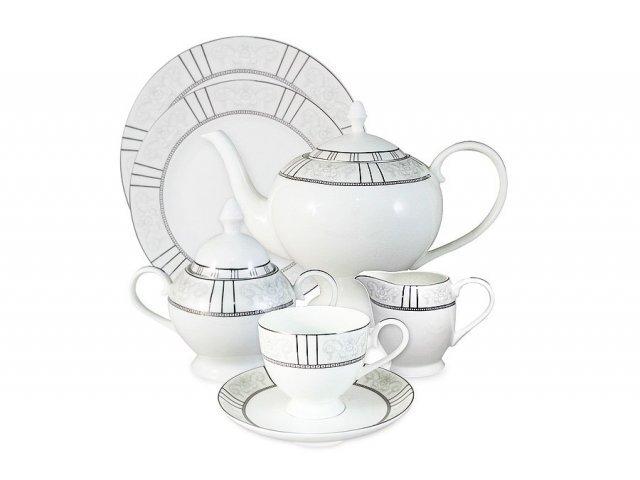 Чайный сервиз Шенонсо Anna Lafarg Emily 40 предметов на 12 персон