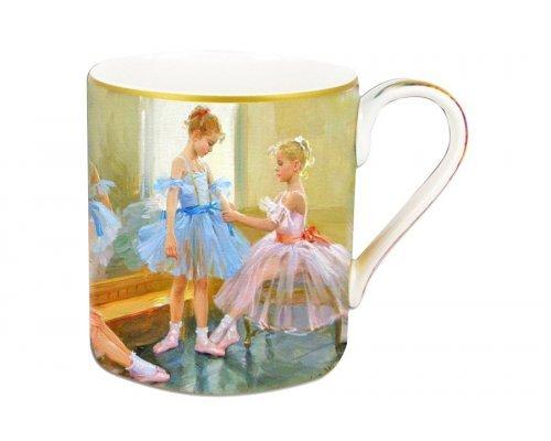 Кружка Carmani Балерины у зеркала в подарочной упаковке
