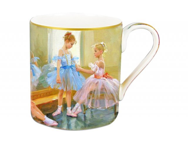 Кружка 0.38 л Carmani Балерины у зеркала в подарочной упаковке