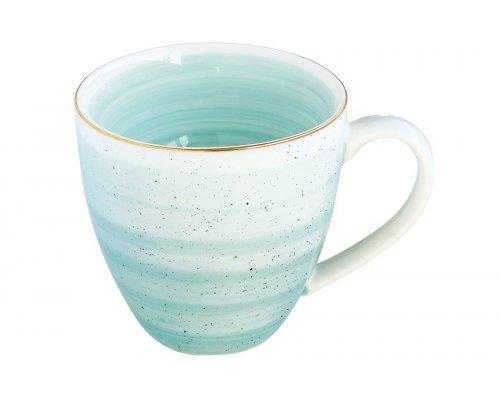 Кружка Easy Life (R2S) Artesanal (зелено-голубая) без индивидуальной упаковки