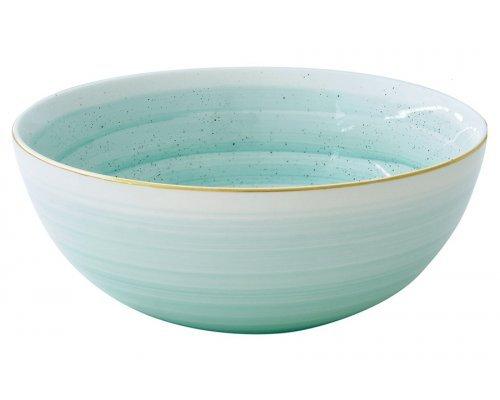 Салатник Easy Life (R2S) Artesanal (зелено-голубая) без индивидуальной упаковки